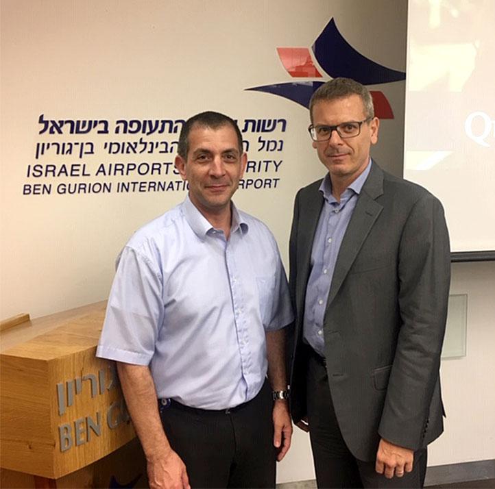 Rencontre avec le chef de la Sécurité de l'aéroport international Ben Gourion