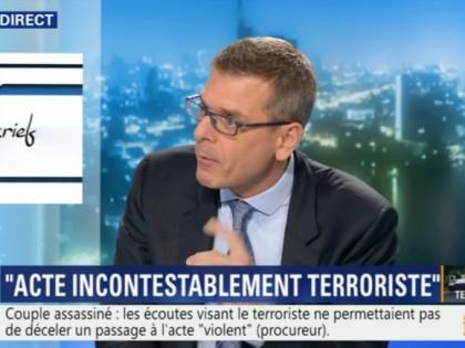 BFM TV: «Thibault de Montbrial face à Frédéric Péchenard: L'attaque de Magnanville est-elle surprenante?»