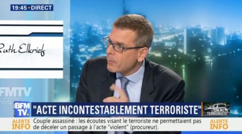 BFM-TV - Thibault de Montbrial - Sécurité Intérieure