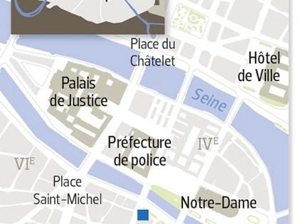 Le Figaro: «Une voiture contenant des bonbonnes de gaz découverte à Paris: deux couples en gardes à vue»