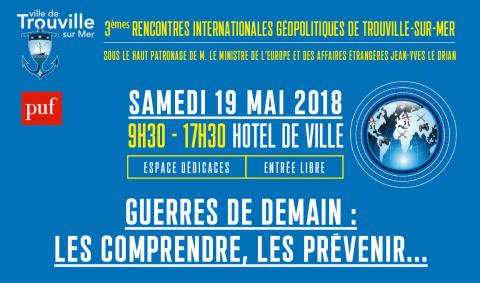 Thibault de Montbrial, invité des 3émes rencontres internationales géopolitiques de Trouvilles-sur-Mer