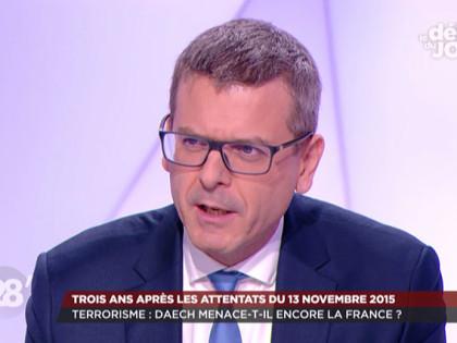 "28 Minutes: ""Terrorisme: Daech menace-t-il encore la France?"" – 13 novembre 2018"