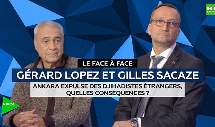 """Intervention de Gilles Sacaze, membre du Comité stratégique du CRSI, sur RT News dans l'émission """"Le Face à Face"""" : """"Ankara expulse des djihadistes étrangers: quelles conséquences?"""""""