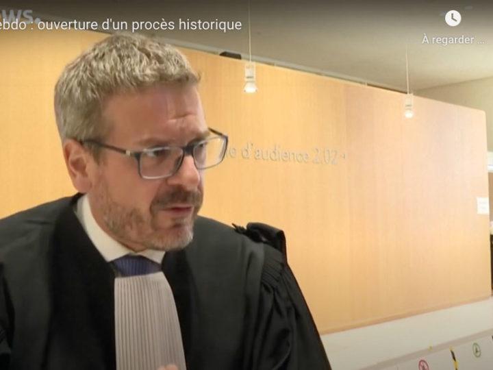 """EuroNews: """"Charlie Hebdo et Hyper Cacher: ouverture d'un procès historique"""""""