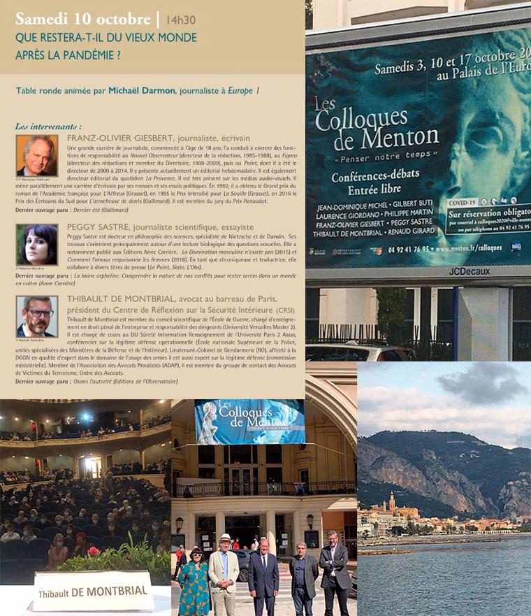 Colloque Menton