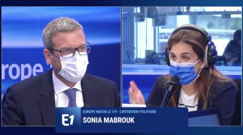 Europe 1 - Sonia Mabrouk