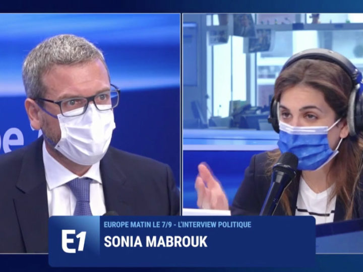 """Thibault de Montbrial: «La production de sécurité est une coproduction entre l'Intérieur et la Justice […]. L'Etat doit protéger ses concitoyens. L'heure n'est plus au """"et en même temps"""" en matière de sécurité»."""