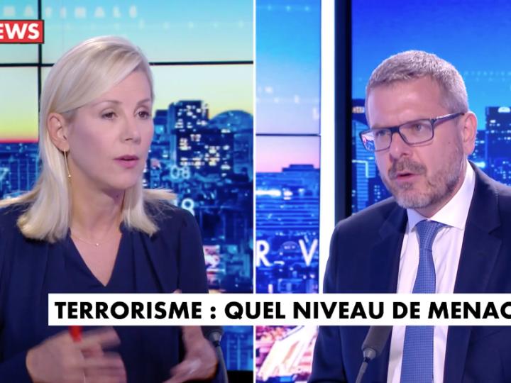 Interview de Thibault de Montbrial dans La Matinale de CNews du mercredi 8 septembre 2021, présentée par Laurence Ferrari