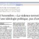 Le figaro interview de Thibault de Montbrial